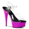 DELIGHT-608UV Clear/Neon Purple